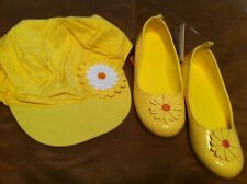 NWT~GYMBOREE~DAISY DAYS~YELLOW~SHOES~FLOWER~DRESS~CASUAL~HAT~SUN~5-7~1