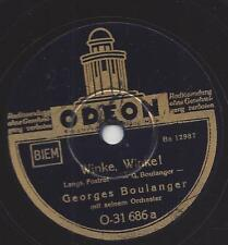 Georges Boulanger Tanzorchester : Winke, Winke + Mein Herz !