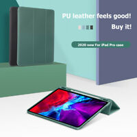 Trifold Stand Protective Case PU Leather Cover for iPad Pro 2020 11/12.9 inch