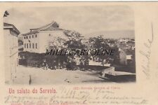 SERVOLA:  Un saluto da - Osteria al Cervo    1899