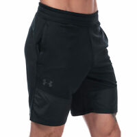 Mens Under Armour Mk1 Terry Shorts In Black