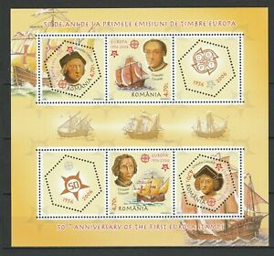 Romania 2006 Christopher Columbus Ships MNH sheet