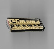 Vintage Miniture Keyboard old enamel pin