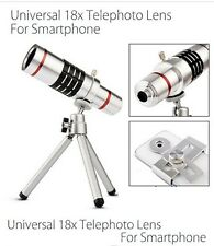 Universal 18x Zoom Optical Camera Lens Telescope Telephoto For Mobile Phone