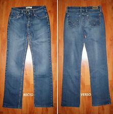 """Jeans femme LEVIS 627 """"Staight fit"""" W27/W28 L34 (FR t37 - t38) bleu foncé"""