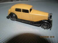 VINTAGE DINKY TOYS  MODEL No.30 DAIMLER   TAN excellent original
