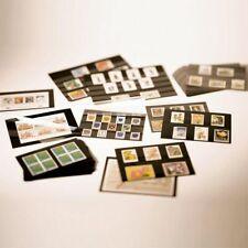 500 Leuchtturm A5-Einsteckkarten Steckkarten mit Schutzfolie NEU schwarz