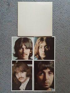 THE BEATLES - White Album     Doppel-Vinyl,LP,mit 4 Bilder und Poster