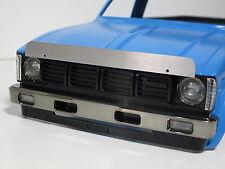 Aluminum Front Hood Bug Deflector shield Tamiya 1/10 RC Toyota Hilux Clodbuster