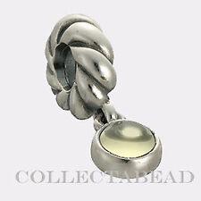 Authentic Pandora Sterling Silver Lime Quartz Disc Bead *RETIRED*  790435LQ