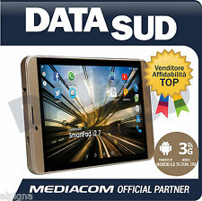 "Tablet MEDIACOM 7"" POLLICI SMARTPAD i2 7 ORO/GOLD M-SP7I2B"