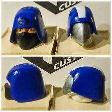 Marvel legends UNPAINTED Headsculpt Cobra Commander or Trooper 1:12 g.i.joe