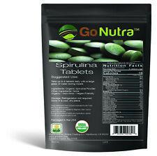 Organic Spirulina Tablets, 3000mg Per Serving, 720 Tablets - Superfoods