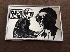 """ELTON JOHN MIRROR 10"""" X 15""""---1977   BRAND NEW"""