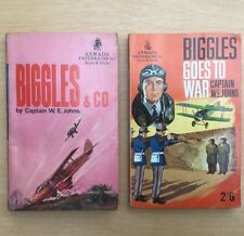 Biggles And Co and Biggles Goes To War W E Johns Armada 1962