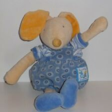 Doudou Lapin Souris Moulin Roty - Collection Lise et Lulu