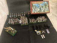 Warhammer AoS Age of Sigmar Armée Hauts Elfes High Elves Army Well painted OOP