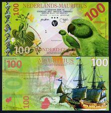 Netherlands Mauritius, 100 Gulden, 2016, Private Issue POLYMER, UNC
