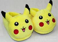Pocket Monster Pokémon Pikachu Unisex Peluche Coton Pantoufles Unisex