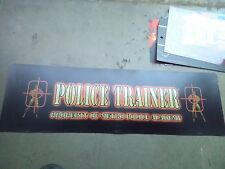 police trainer arcade marquee #10