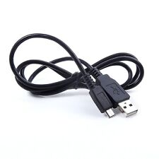 USB Battery Charger + Data SYNC Cable Cord For Sony Cybershot DSC-WX150 v WX150b