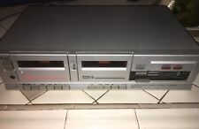 Akai Stereo Double Cassette Deck HX-A301W Dolby System