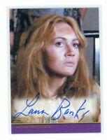Star Trek Inflexions Laura Banks as Khan's Navigator Movie Auto Autograph Card