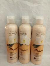 3 x Avon Naturals Silky Vanilla Hand Body Care Moisture Lotion