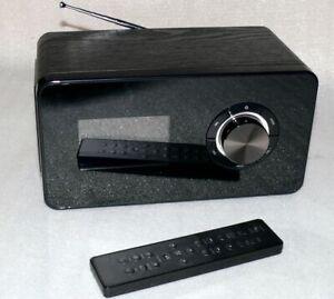 TERRIS IWR231 WLAN Internet Radio Holz Stereo PLL RDS Weltempfänger Schwarz