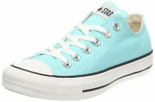 CONVERSE Chuck Taylor All Star OX Low sz 10 Beach Glass Blue White 130118F