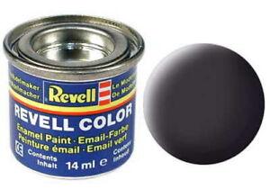Revell EMAIL Color Farbe 14 ml, 32106 teerschwarz matt