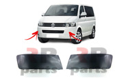 FOR VW TRANSPORTER / MULTIVAN 09-15 FRONT BUMPER MOULDING TRIM PAINTING PAIR