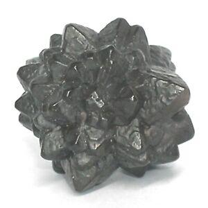 Kleiner PROPHETENSTEIN Pseudomorphose Limonit nach Markasit 24mm aus Ägypten 06