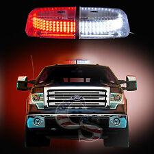 240 LEDs Light Bar Roof Top Emergency Beacon Warning Flash Strobe Red and White