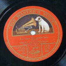 "78rpm 12""AMELITA GALLI-CURCI lo here the gentle lark / echo song - bishop"