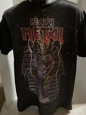 21 Men Heavy Metal Shirt Polyester/Spandex Blend Size L