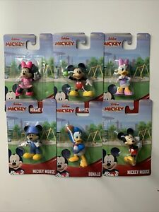 Disney Junior Set Of Mini Figures Mickey Mouse Collectible Daisy Brand New
