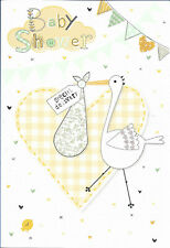 Fantastic Happy Baby Shower Greeting Card