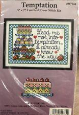 Cross Stitch Kit, Design Works, Temptation #Dw9764 Fabric, Chart, Floss No Frame