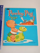 1969 Warners Bros Porky Pig Coloring Book High Grade Unused