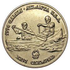 Romania 10 lei 1996 Coin KM#124 Olympic games Atlanta Canoe from mint bag