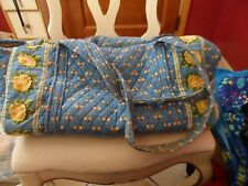Vera bradley large duffel bag in retired Blue Bees Pattern #2