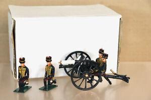 FUSILIER MINIATURES GC04 ROYAL HORSE ARTILLERY KING'S TROOP CANNON & CREW oa