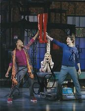 KINKY BOOTS OBC BILLY PORTER STARK SANDS ANNALEIGH ASHFORD SIGNED 8X10 PHOTO A