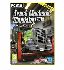 Truck Mechanic Simulator 2015 (PC DVD) PC 100% Brand New FACTORY SEALED