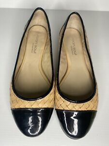 URBAN SOUL FLAT SHOES WOVEN LEATHER UPPER, LINING & INSOLE SIZE 39 - BOHO