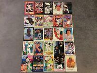 HALL OF FAME Baseball Card Lot 1975-2020 WILLIE MAYS JOE MORGAN FRANK THOMAS