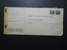 Iceland 1940s Censor Cover to USA / Light Folds - Z10817