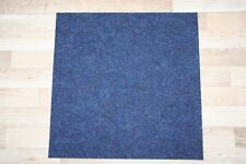 Bedford Deep Blue Carpet Tiles  Commercial - Domestic Office Heavy Use Flooring