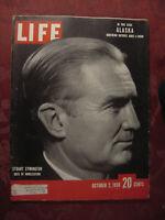 LIFE magazine October 2 1950 KOREA W. Stuart Symington Alaska Marguerite Higgins